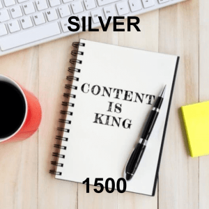 Content Writer Silver 1500 - 4 Pack - Monthly Subscription